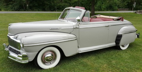1947 Mercury Convertible for sale