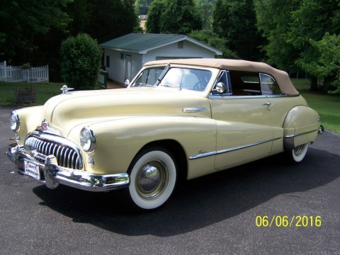 1948 Buick Super Convertible for sale