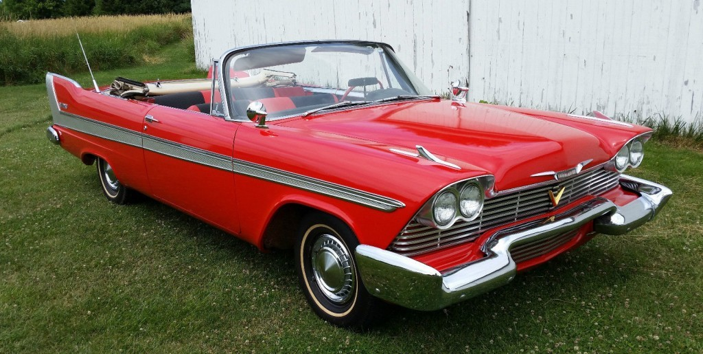 1958 Plymouth Belvedere Convertible For Sale