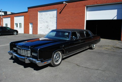 1973 Lincoln Continental Limousine for sale