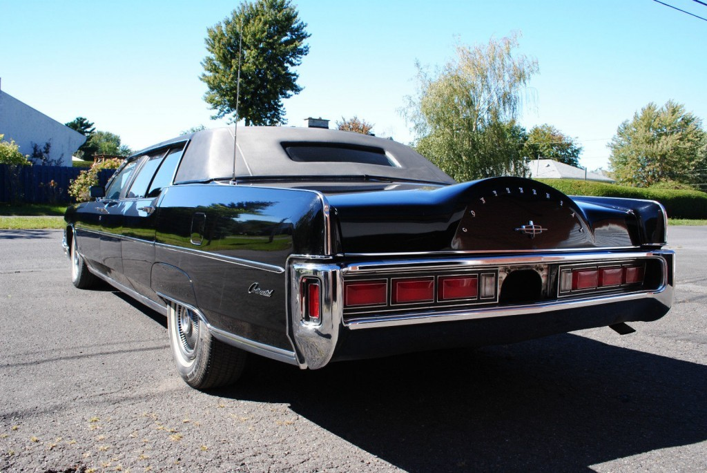 1973 lincoln continental limousine for sale. Black Bedroom Furniture Sets. Home Design Ideas