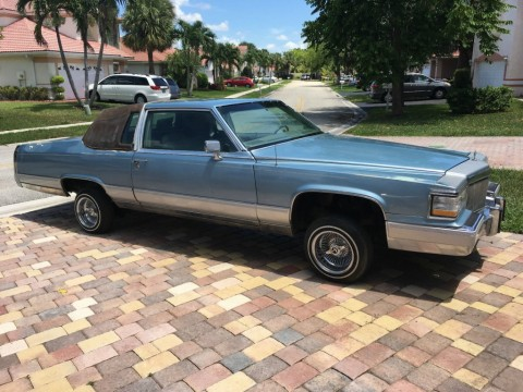 1983 Cadillac Fleetwood for sale