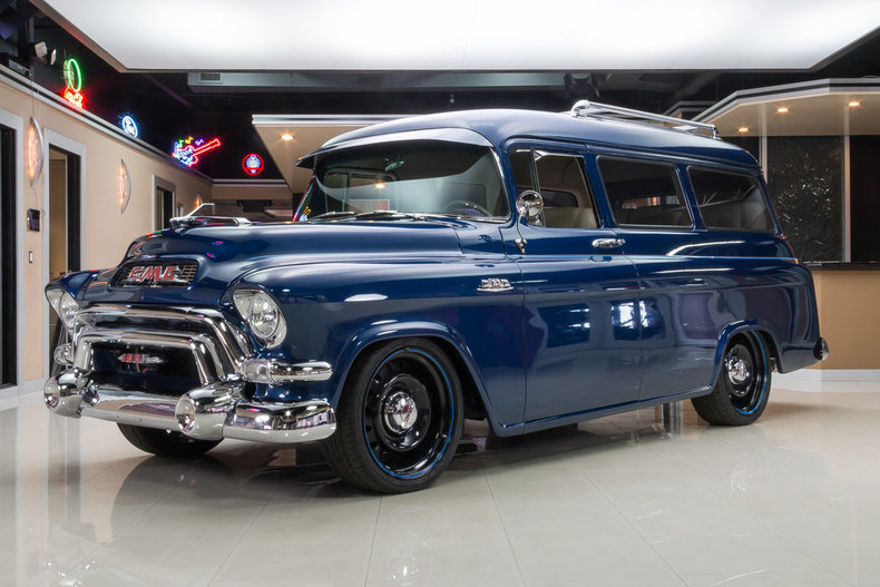 2016 Gmc Denali 2500 >> 1955 GMC Suburban for sale