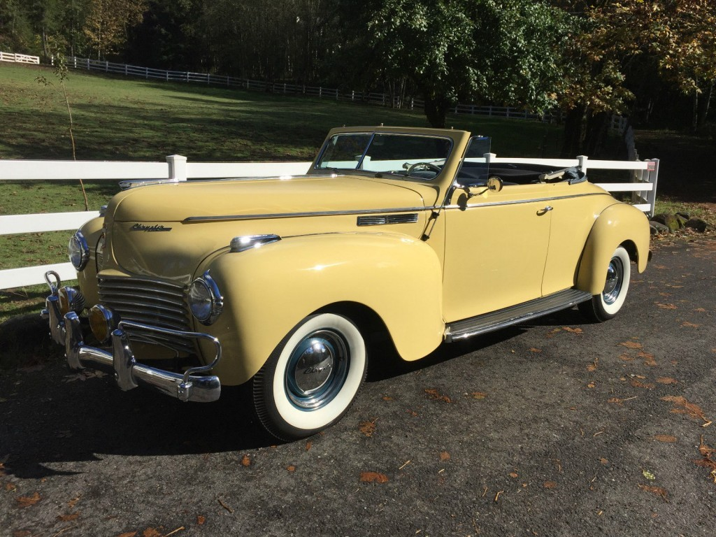 1940 Chrysler New Yorker Convertible