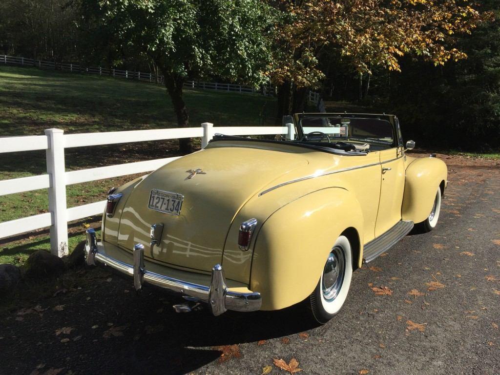 1940 Chrysler New Yorker Convertible For Sale