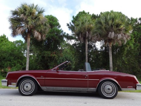 1983 Buick Riviera Convertible for sale