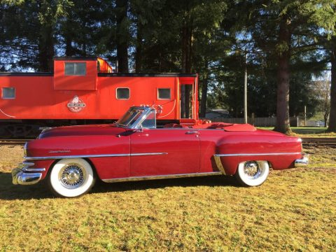 1953 Chrysler New Yorker Deluxe Convertible for sale