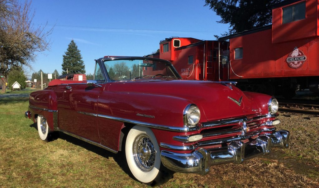 1953 Chrysler New Yorker Deluxe Convertible