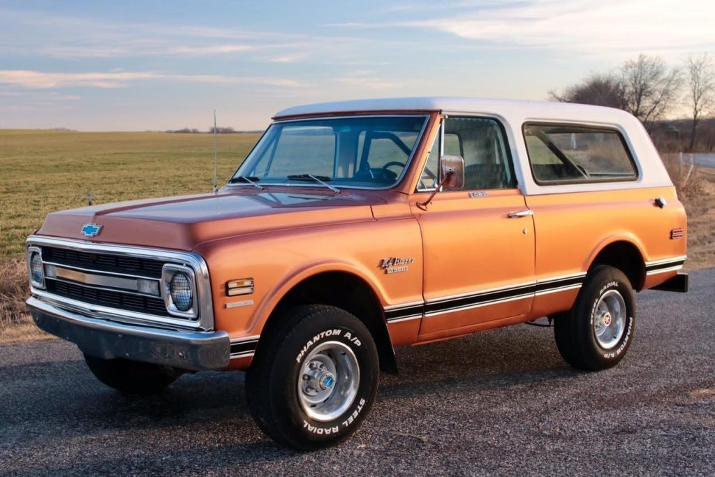 1970 Chevrolet Blazer for sale