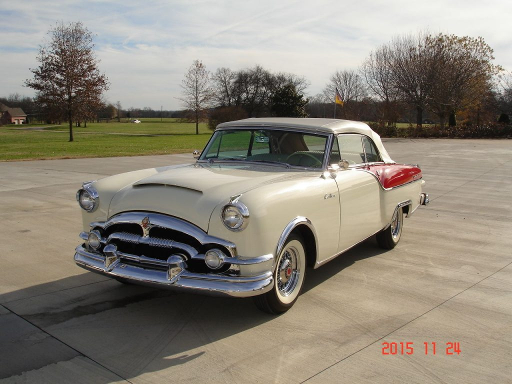 X besides Chrysler Windsor American Cars For Sale X further Chrysler American Cars For Sale X X furthermore Cadillac Series American Cars For Sale X additionally Packard Caribbean American Cars For Sale X. on 1953 cadillac coupe deville
