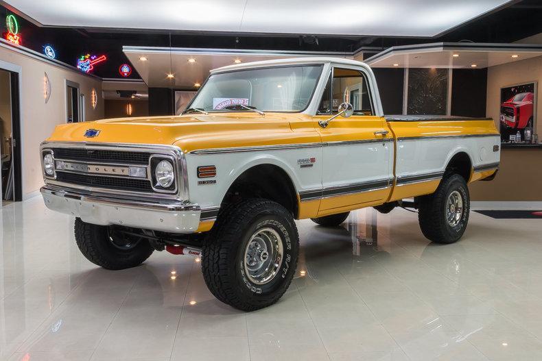 1970 Chevrolet K-10 Cheyenne