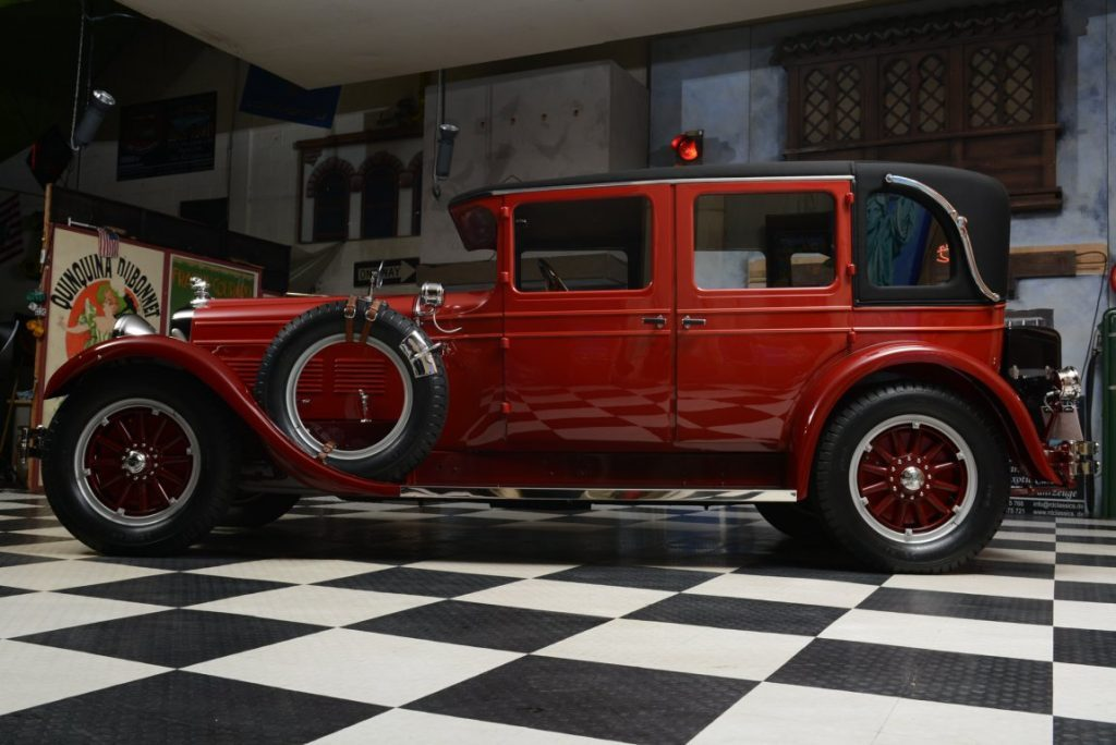 1927 Stutz Vertical Eight Brougham