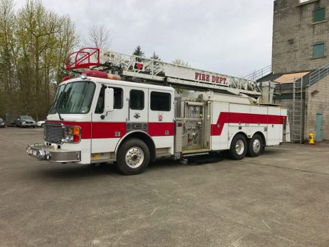 1999 American LaFrance Ladder Fire Truck for sale