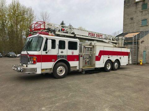 1999 American LaFrance Ladder Fire Truck for sale