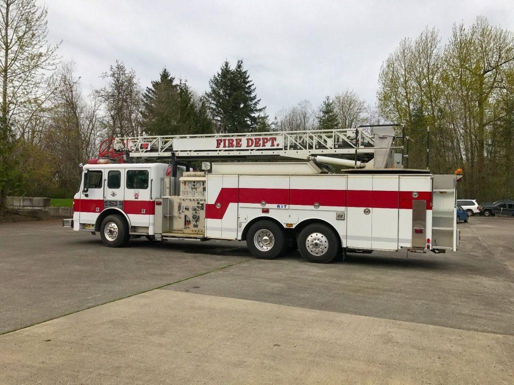 1999 American LaFrance Ladder Fire Truck