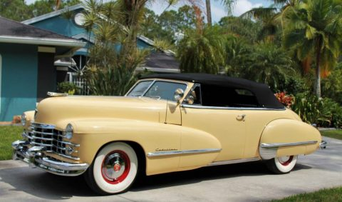 1947 Cadillac Series 62 Convertible for sale