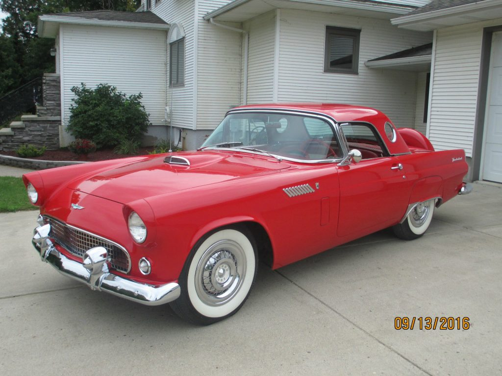 Ford Thunderbird American Cars For Sale X on 1956 ford fairlane convertible