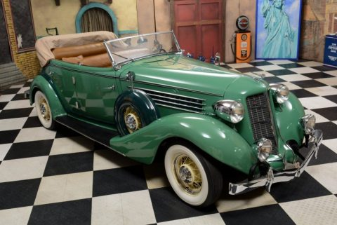 1935 Auburn 851 Phaeton Sedan for sale