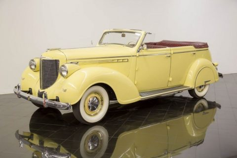 1938 Chrysler Imperial Eight Convertible Sedan for sale