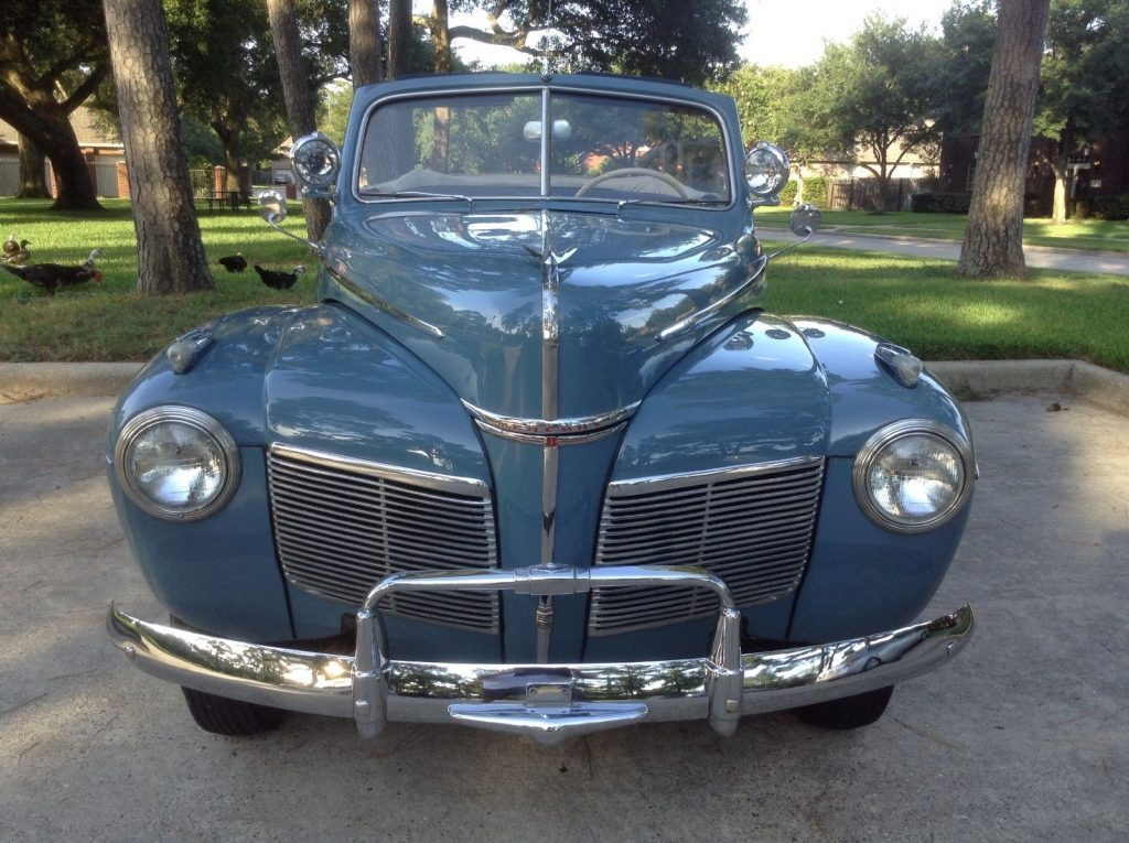1941 Mercury Convertible For Sale