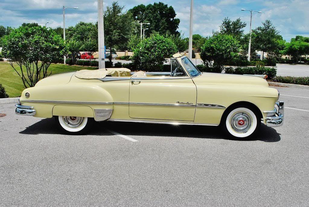 1951 Pontiac Chieftain Convertible