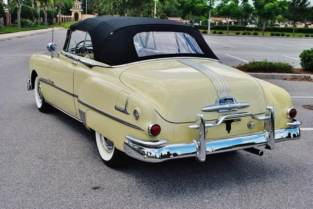 1951 Pontiac Chieftain Convertible For Sale