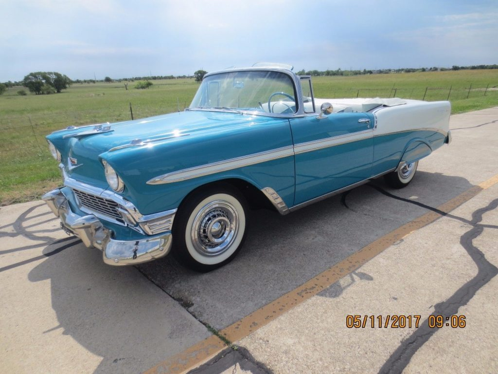 1956 Chevrolet Bel Air Convertible For Sale 1966 Conv