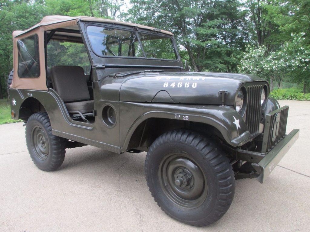 1955 Jeep M38A1