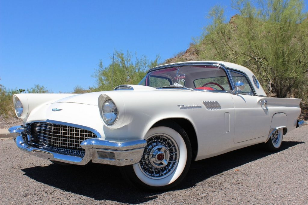 Ford Thunderbird American Cars For Sale X on 1957 Ford Fairlane 300
