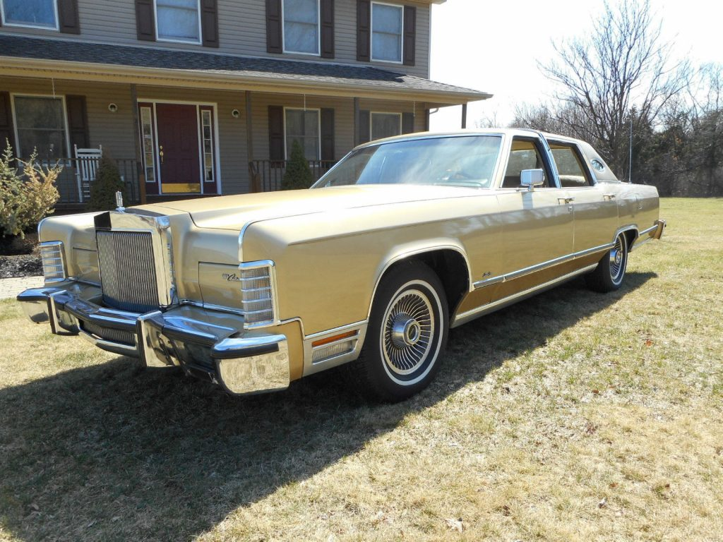 1979 lincoln town car for sale. Black Bedroom Furniture Sets. Home Design Ideas