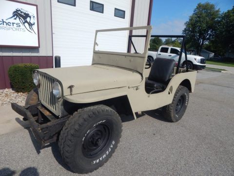1947 Willys CJ2A for sale