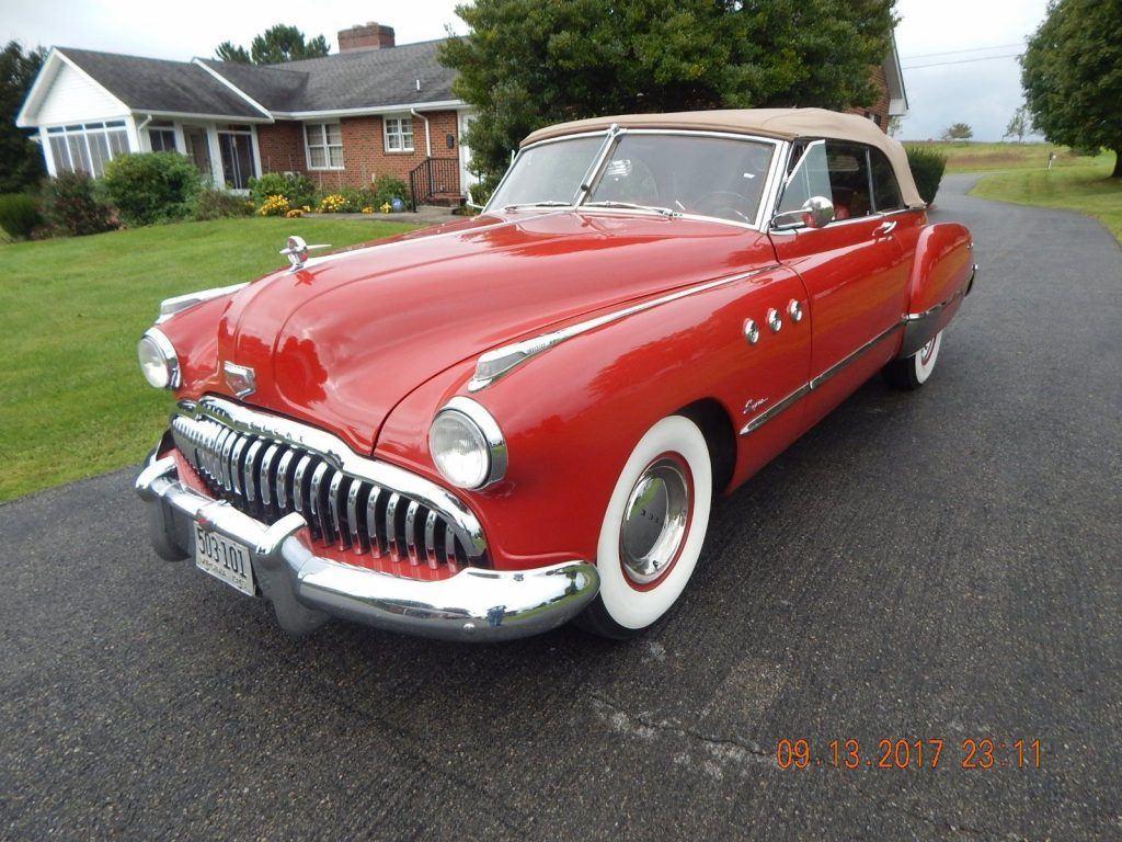 1949 Buick Super Convertible