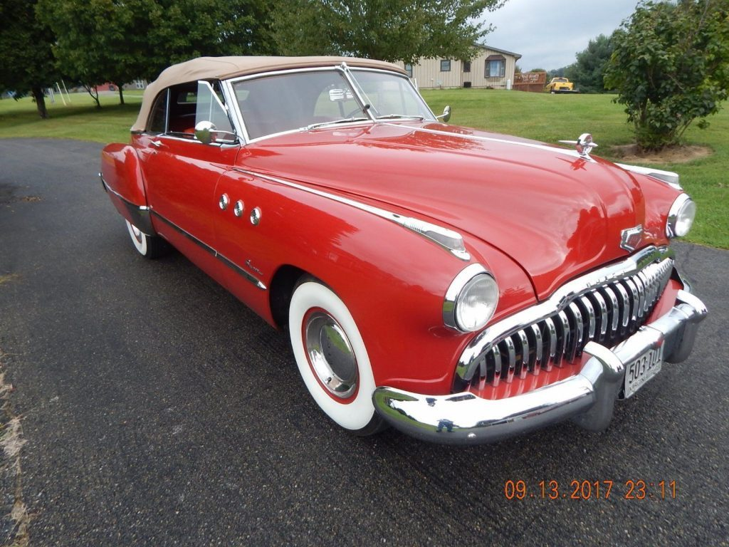 1949 buick super convertible for sale. Black Bedroom Furniture Sets. Home Design Ideas