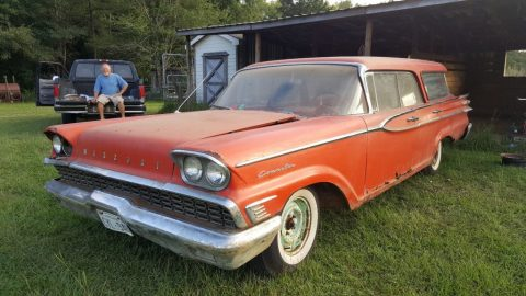1959 Mercury Commuter Country Cruiser for sale