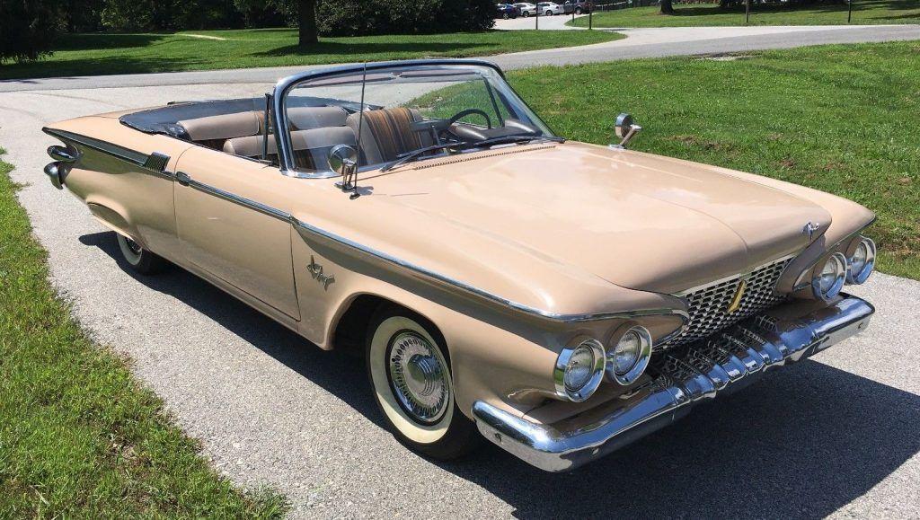 1961 Plymouth Fury Convertible