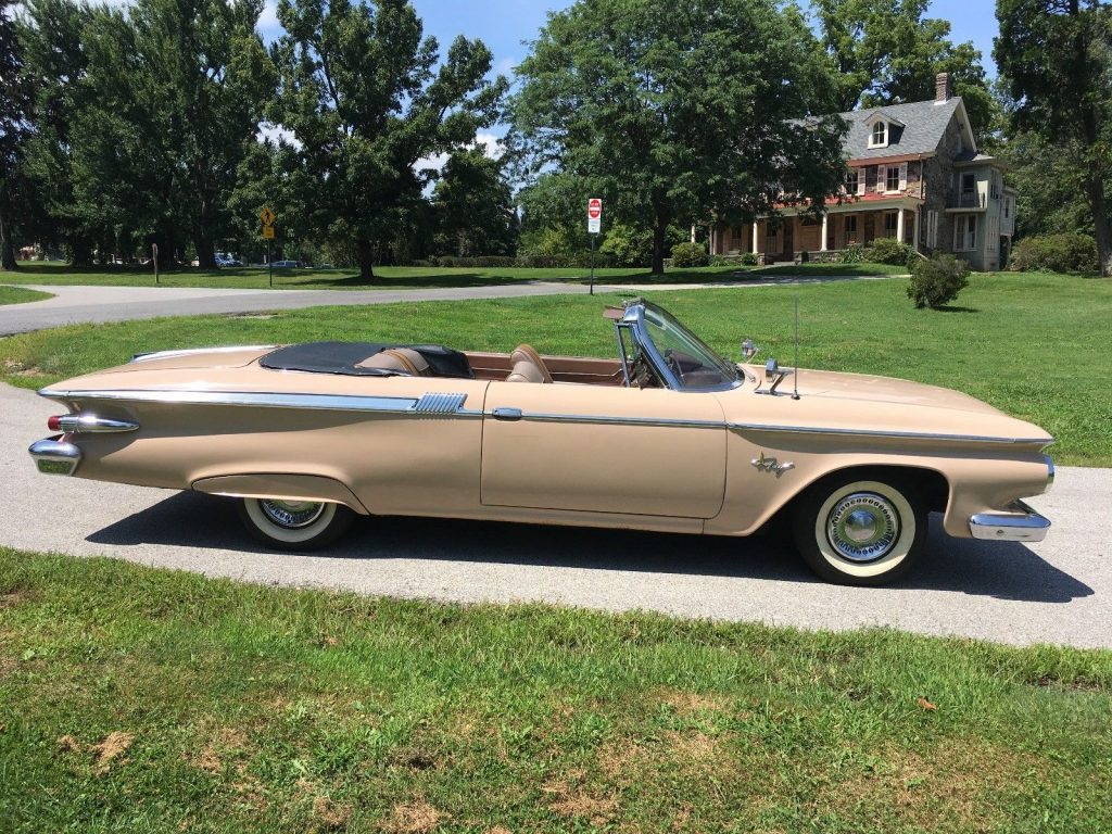 1961 Plymouth Fury Convertible for sale