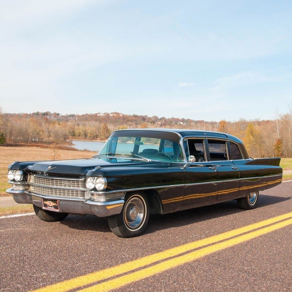 Custom Cadillac Deville For Sale: 1963 Cadillac Fleetwood 75 Limousine For Sale
