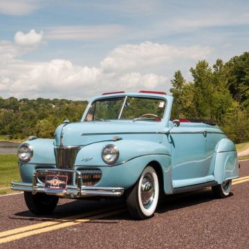 1941 Ford Super Deluxe Convertible for sale