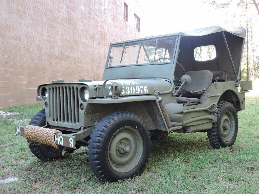 1942 jeep willys for sale. Black Bedroom Furniture Sets. Home Design Ideas