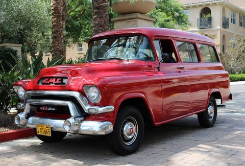 1956 GMC Suburban Deluxe for sale