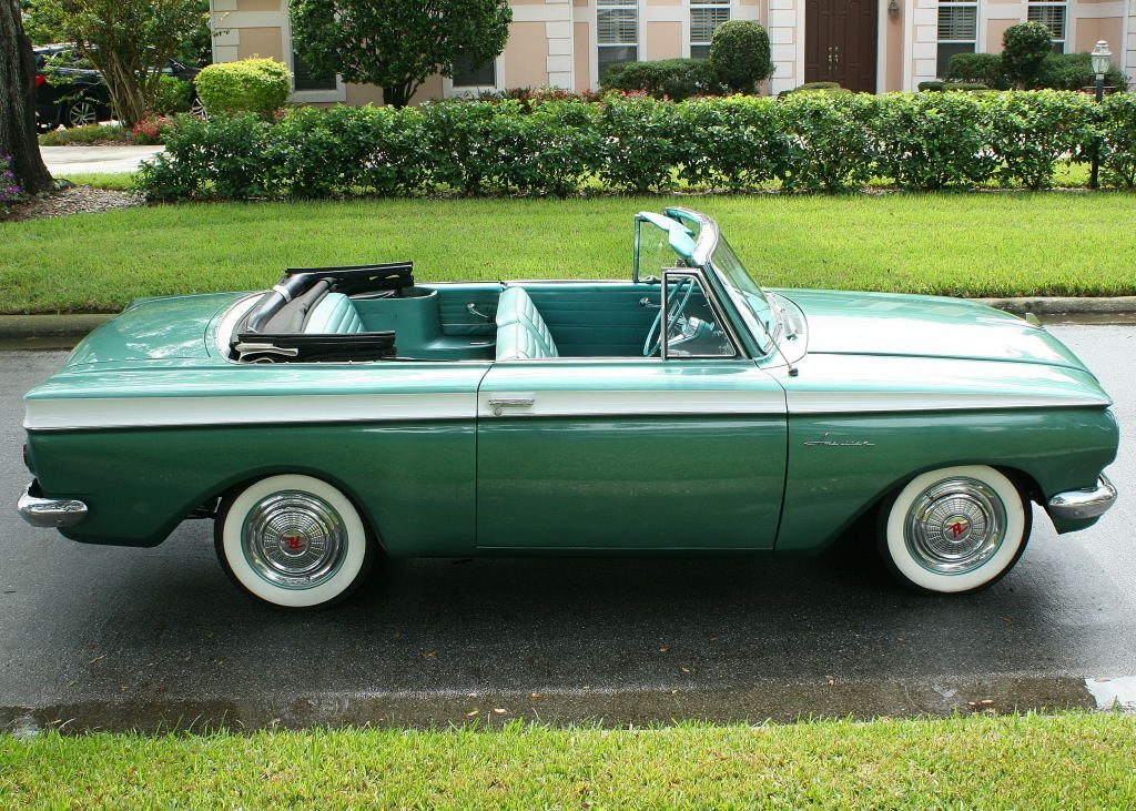 1962 rambler american convertible for sale for Classic and american cars for sale