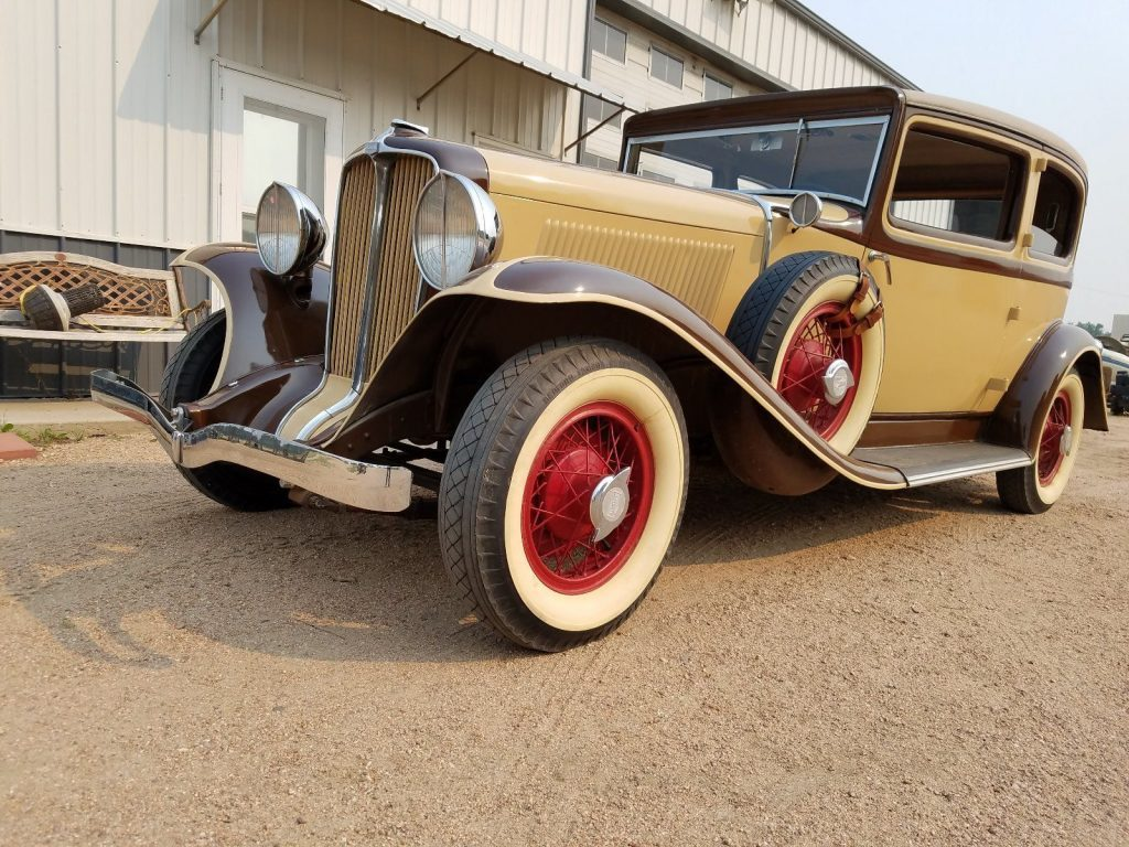 1931 Auburn Brougham G80