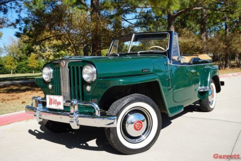 1949 Willys Jeepster Convertible for sale