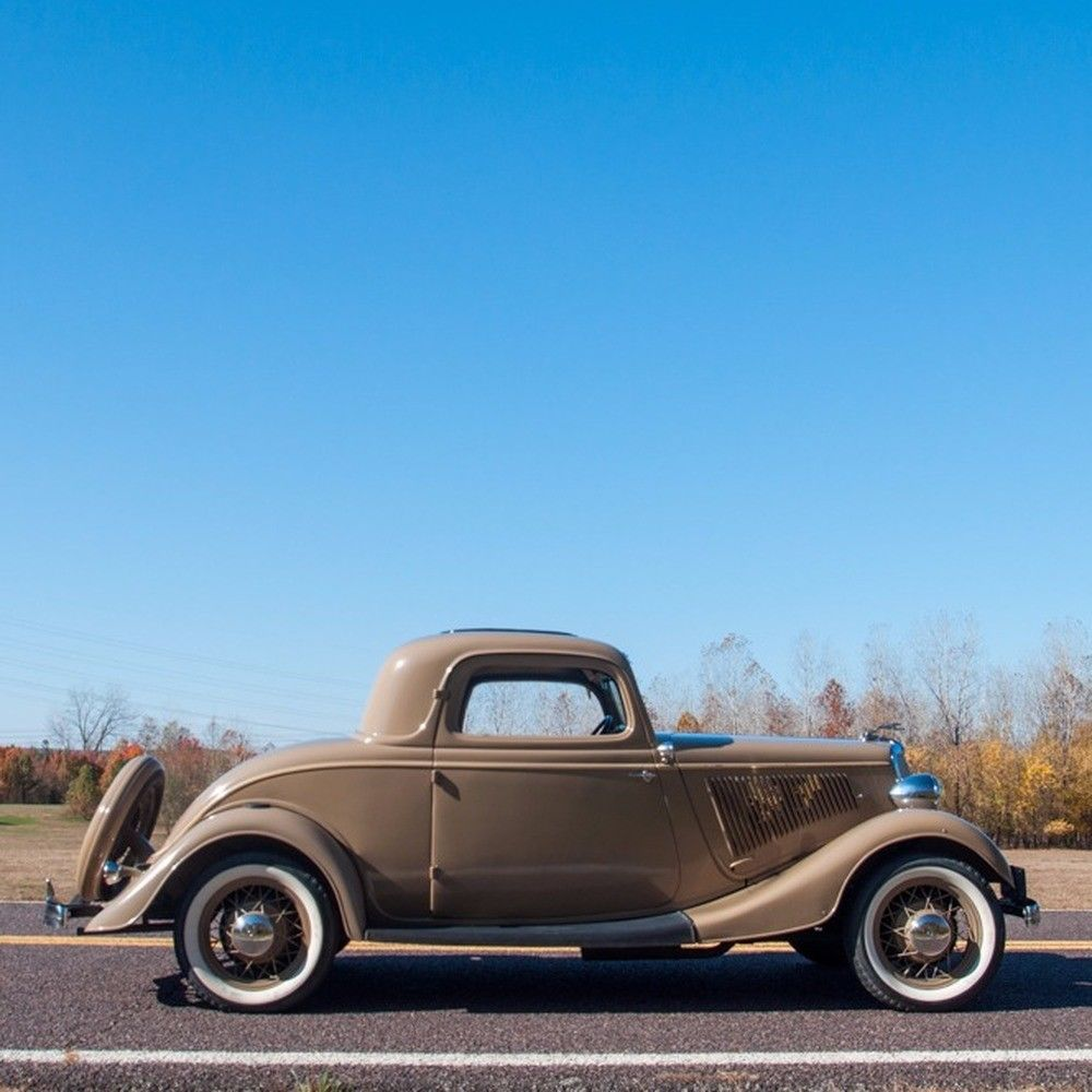 1934 Ford Deluxe Three Window Coupe For Sale