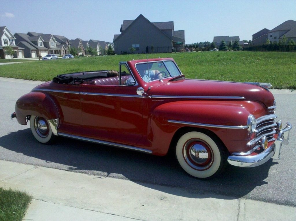 1947 Plymouth Special Deluxe Convertible