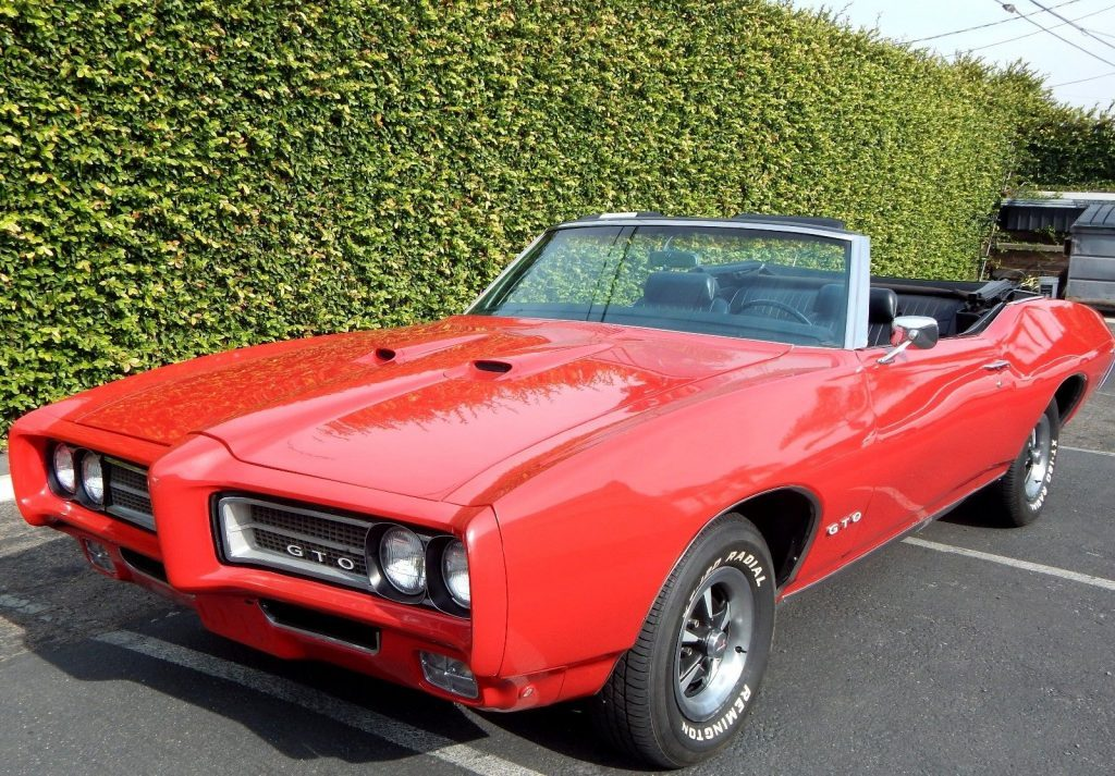 1969 pontiac gto convertible for sale. Black Bedroom Furniture Sets. Home Design Ideas