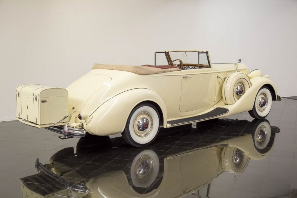 1937 Packard Super Eight Convertible