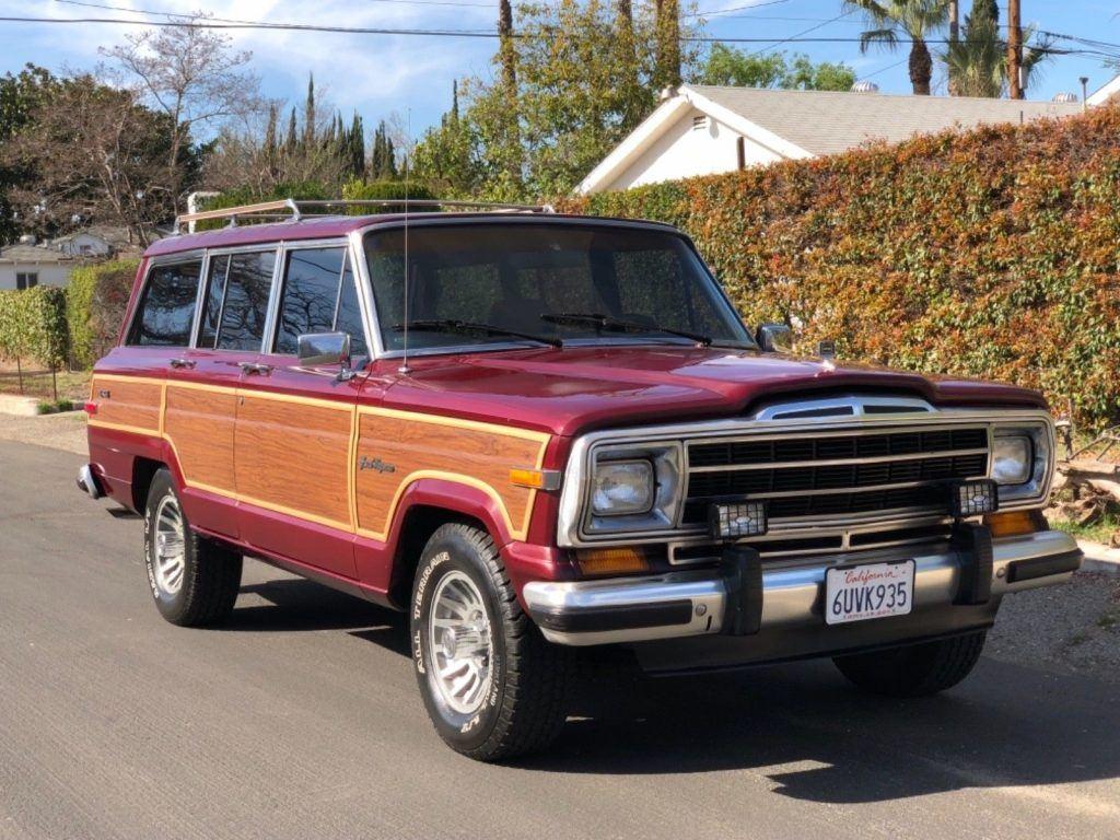 Jeep Wagoneer 2018 >> 1988 Jeep Wagoneer for sale