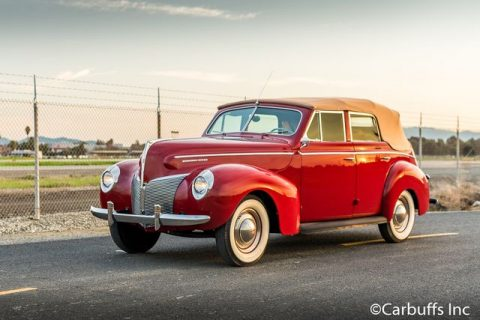1940 Mercury Eight Convertible Sedan for sale