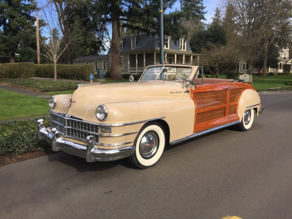 1948 chrysler town country convertible for sale. Black Bedroom Furniture Sets. Home Design Ideas